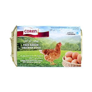 Coren Free Range Brown Eggs 6pcs