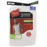 Hanes Mens Vest White Large 372 1x3 Piece