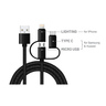 Smart 3 in 1 Charging & Sync Cable C05 1Meter