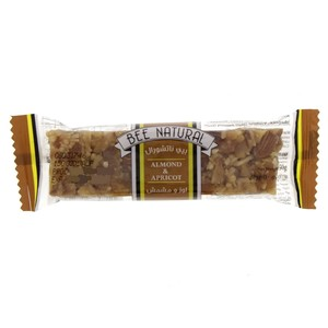 Bee Natural Almond & Apricot Bar 50g