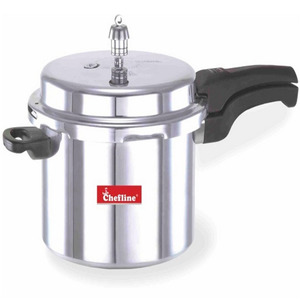 Chefline Aluminium Induction Pressure Cooker 5Ltr