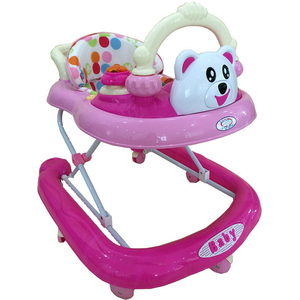First Step Baby Walker 837 Pink
