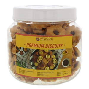 V Foods Coconut Biscuits With Pineapple Jam 400g