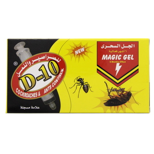 D-10 Cockroaches & Ants Control Magic Gel 30 Gm