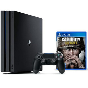 Sony PS4 Pro 1TB Console+Call Of Duty WW II