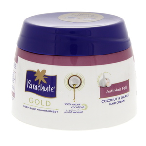 Parachute Gold Coconut And Garlic Hair Cream 210ml