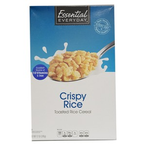Essential Everyday Crispy Rice Toasted Cereal 340g