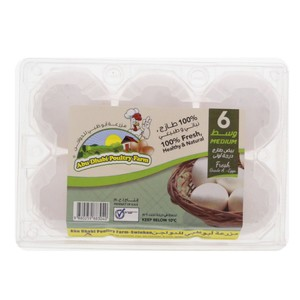 Abu Dhabi Eggs Medium 6pcs