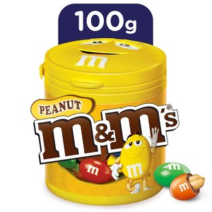 M&M'S Peanut Chocolate Canister 100g