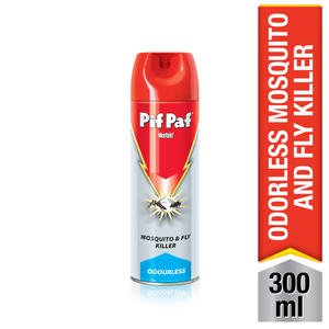 Pif Paf Odourless Mosquito & Fly Killer 300ml