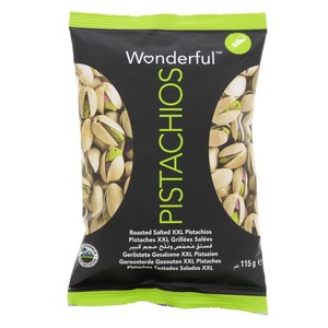 Wonderful Roasted Salted Pistachios 115g