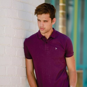 Eten Men's Basic Polo Tees Short Sleeve Hortensia