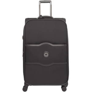 Delsey Chatelet 4Wheel Soft Trolley 82000 75cm Black