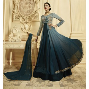 Semi Stitched Women's Anarkali Suit Zubeda Seher 14906