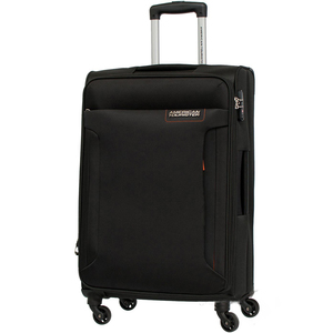 American Tourister Troy 4 Wheel Soft Trolley 79cm Black